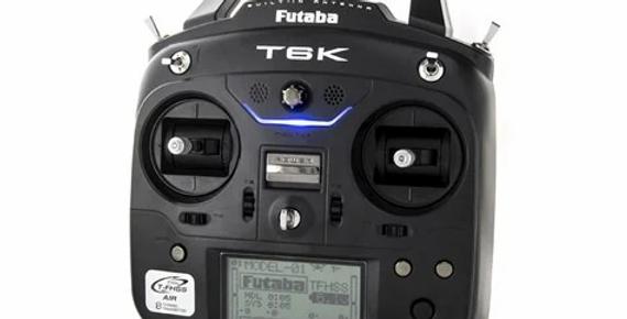 Futaba 6K V2 FPV 8 Channel 2.4GHz T-FHSS Radio System (Airplane) w/R3001SB Recei