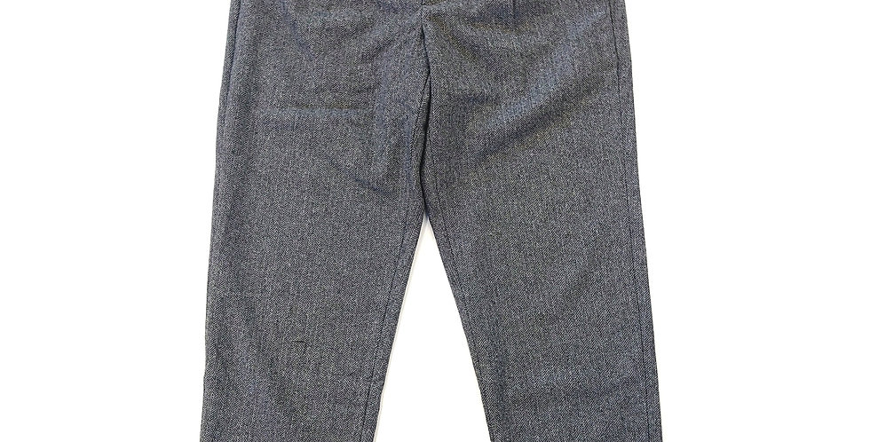 ARBRE  herringbone one tac easy pants