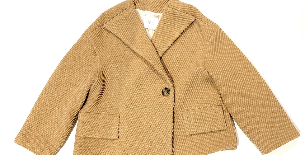 TELA    wool wide jacket