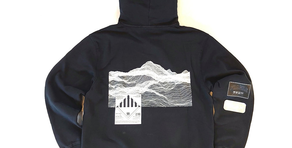 STAMPD empty wave pullover hoodie