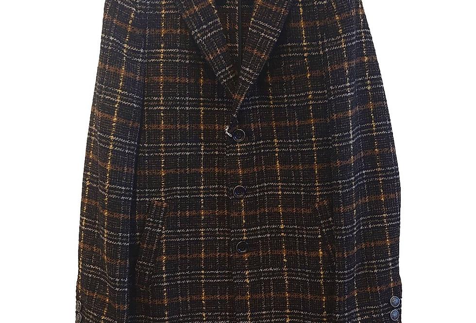 SSEINSE check coat