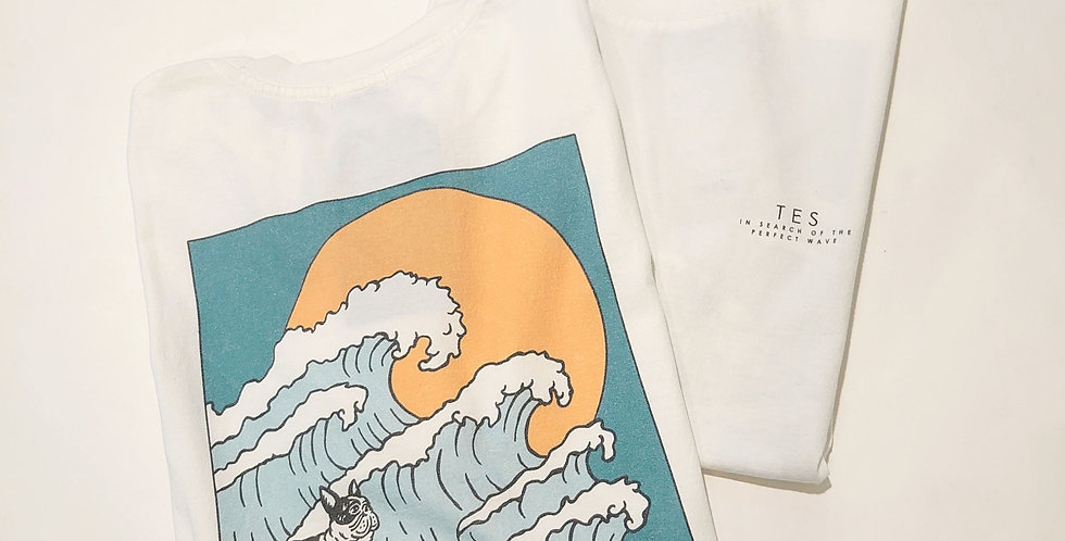 TES  the endless summer  Big Wave T-sh
