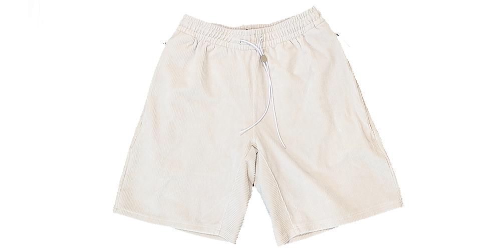 ZANEROBE    stretch corduroy half pants