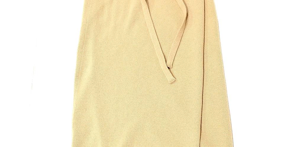 TELA   winny knit wrap skirt