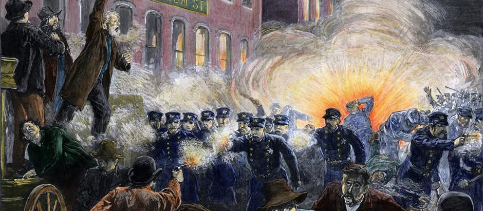 Die Haymarket Riot in Chicago