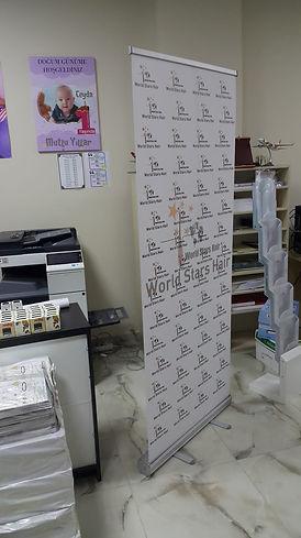 Bakırköy roll up banner baskı
