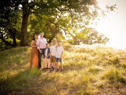 Family Portraits in Sacramento, CA