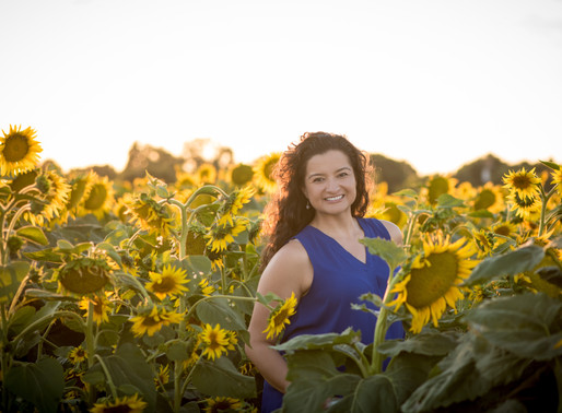 Sunflower Sunset Portraits