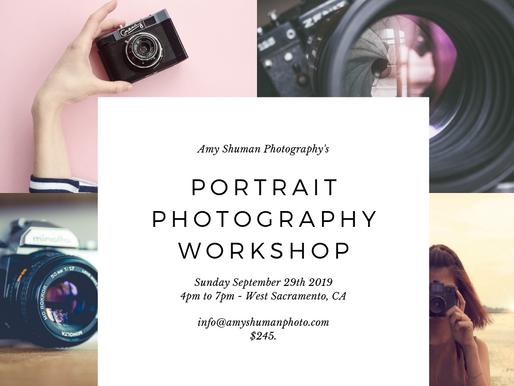 Portrait Photography Class!