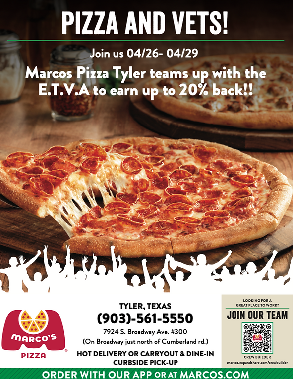marcos pizza teams up withn ETVA