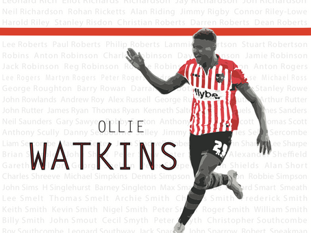 Exeter City welcomes transfer of Ollie Watkins