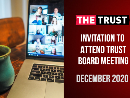 Join the Trust Board meeting for December...