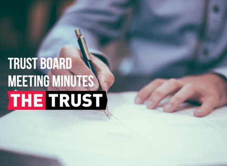 Trust Board Meeting Minutes | August