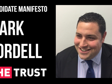 Candidate manifesto | Mark Cordell