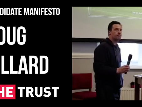 Candidate Manifesto   Doug Gillard