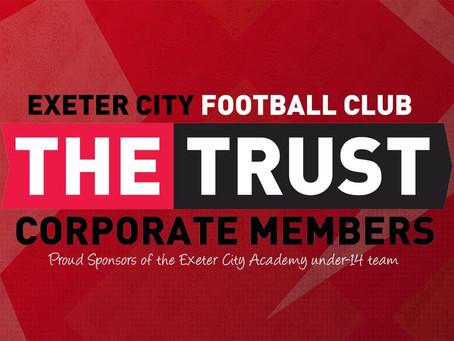 Corporate Trust members sponsor the Academy under-14s