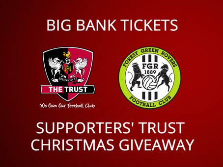 Trust Christmas Giveaway   Forest Green Rovers