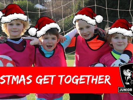 Junior Grecians   Christmas Get Together!
