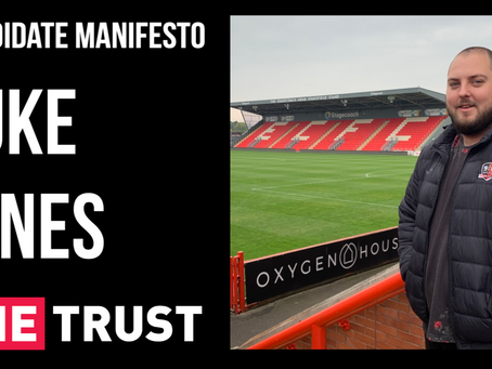 Candidate Manifesto   Luke Jones