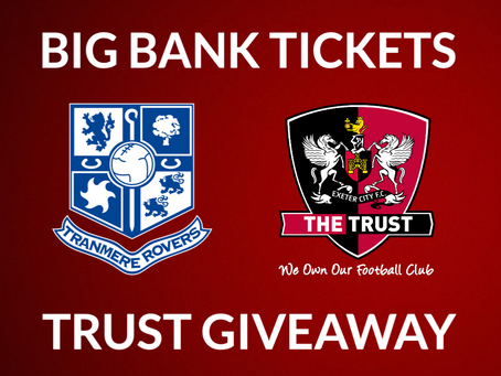 Ticket Giveaway   Tranmere Rovers