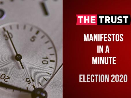 Manifestos in a Minute
