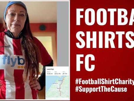 Enter the Football Shirt Charity Run 2021