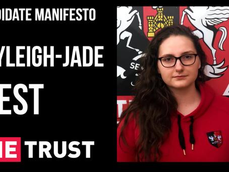 Candidate Manifesto   Kayleigh-Jade West