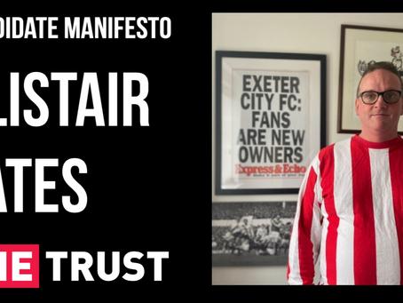 Candidate Manifesto | Alistair Yates