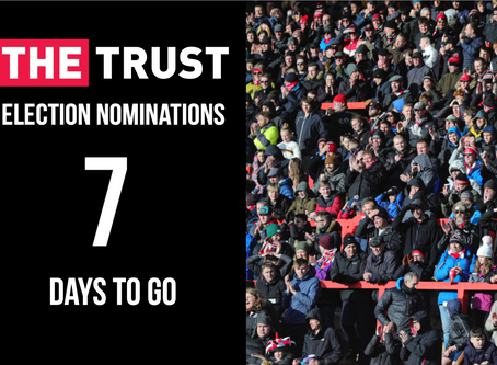 Trust Nominations | Seven Days to Go!