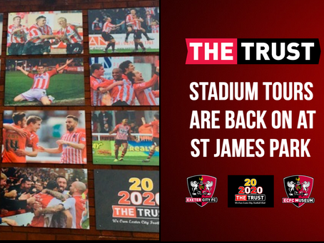Stadium Tours are back!