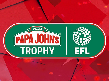 Papa John's becomes Official Title Sponsor of EFL Trophy