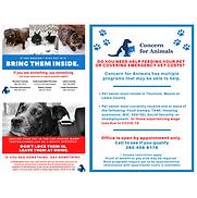 Concern for Animals CFA Animal Welfare PSA Help Poster
