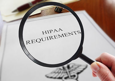 HIPAA healthcare requirements document w