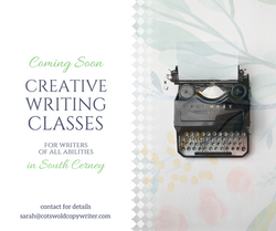 Social media ad for Writing Classes