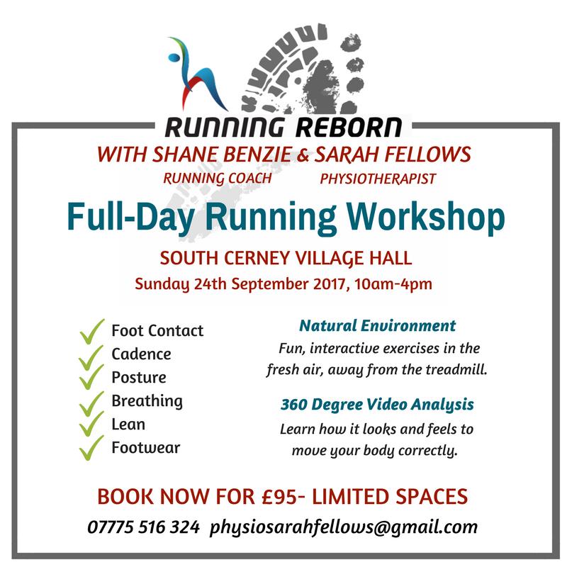 Flyer for Running Workshop