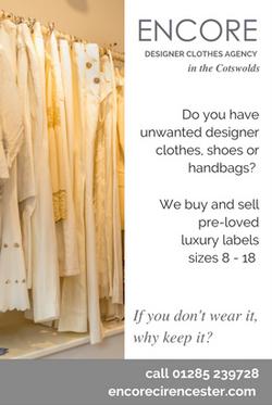 Magazine Ad for Fashion Agency