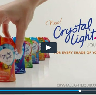Crystal Light Commercial