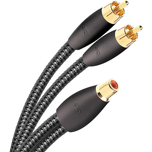 FLX-X RCA SPLITTER (FEMALE RCA > 2 MALE)