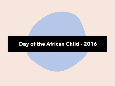 Day of the African Child - 2016