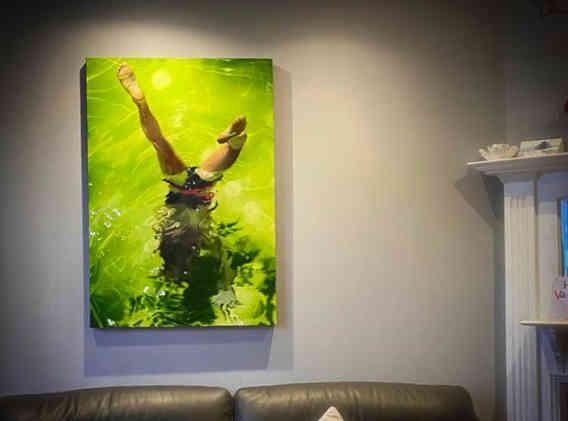 'Handstand' Original painting
