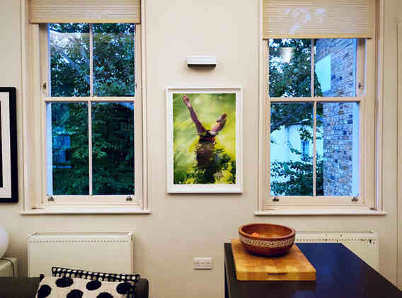 'Handstand' limited edition print