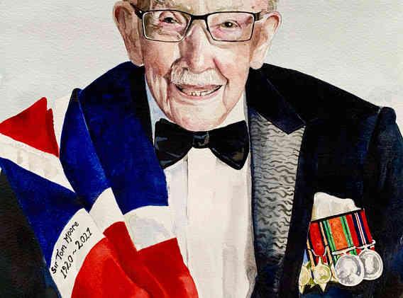 Sir Captain Tom Moore