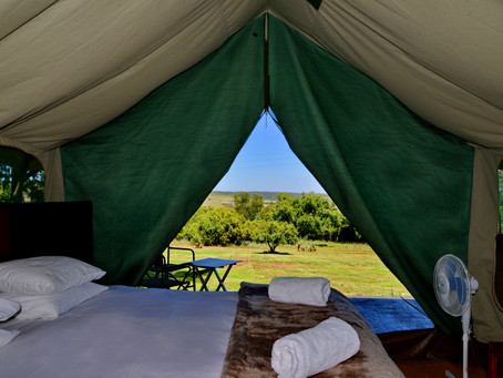 Why is it called GLAMPING?