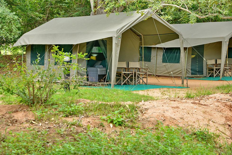 Pretoriouskop Tented camp Exterior View