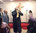 pastor tony Marshall preaching