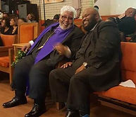 dr tony marsall and Bishop Rance allen