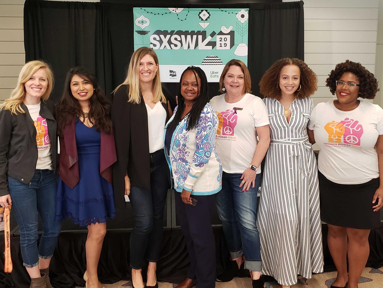 WAND Staff and panelists SXSW