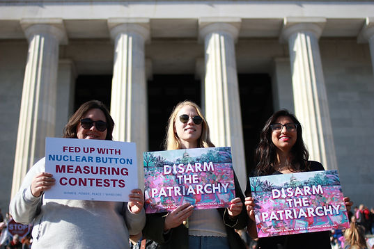 Women's March 2018, Washington, DC, Women's Action for New Directions (WAND), Disarm the Patriarchy
