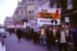 Anti-nuclear weapons protest march, Oxford, England, 1980