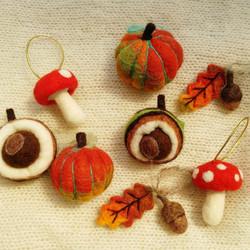 Felt Autumn Decorations